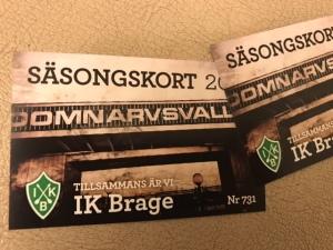 IK Brage säsongskort